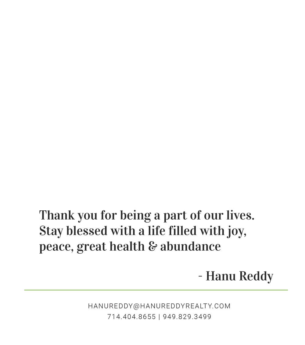 HANU REDDY THOUGHTS