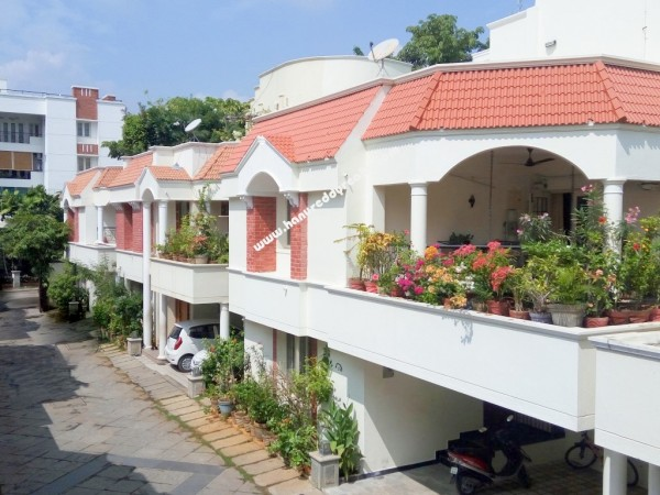 4bhk Villa For Rent At Valmiki Nagar Thiruvanmiyur
