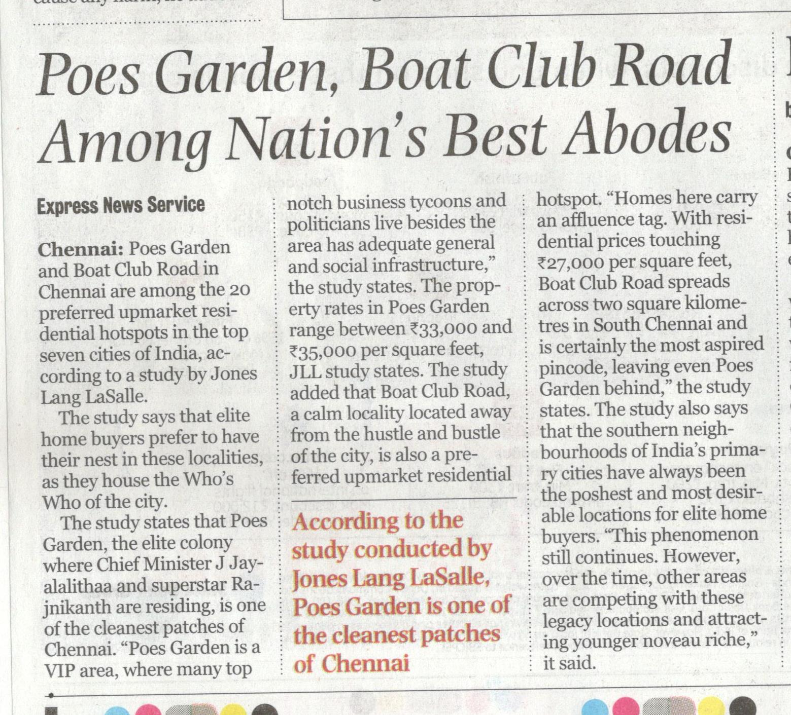 Poes Garden, Boat Club Road Among Nation\